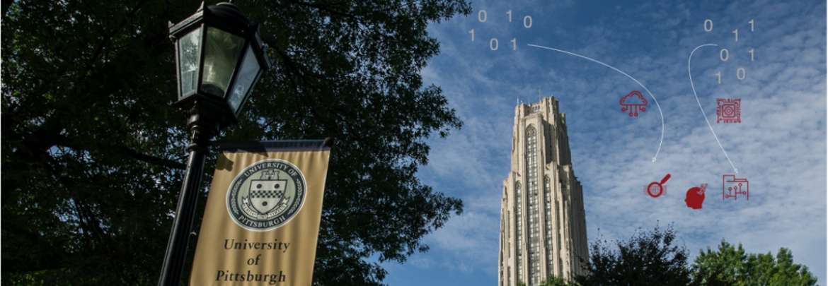 The cathedral of learning, bits transformed to information, and the University of Pittsburgh